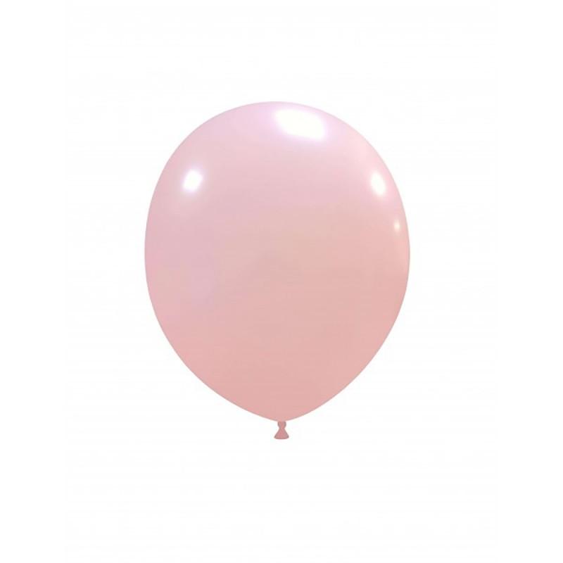 Set 100 Baloane Roz Deschis 13 cm