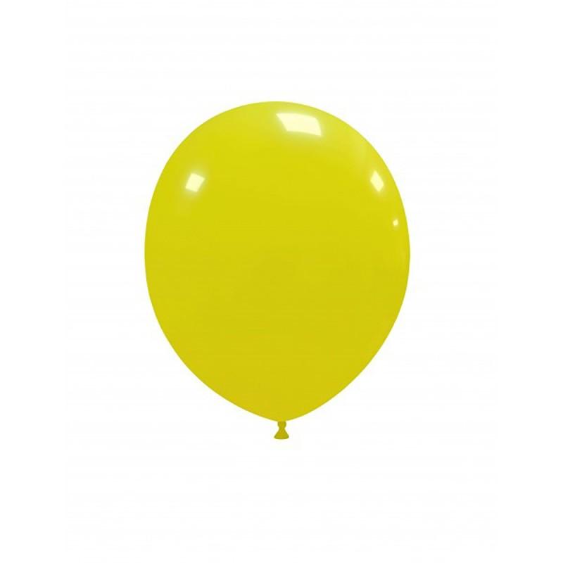 Set 100 Baloane Galbene 13 cm