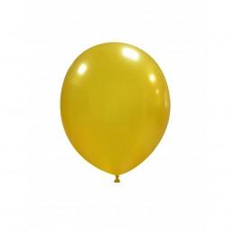 Set 100 Baloane Aurii 13 cm
