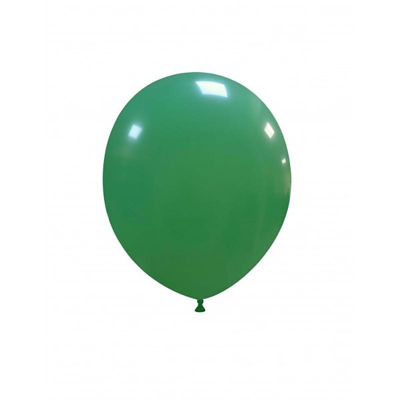 Set 100 Baloane Verde Inchis 13 cm