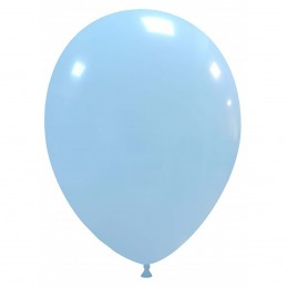 Set 100 Baloane Pastel Baby Blue 30cm