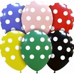 Set 10 Baloane Multicolore cu buline