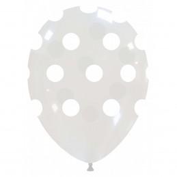 Set 10 Baloane Transparente cu buline