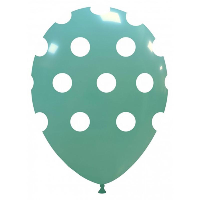 Set 10 Baloane Aqua cu buline