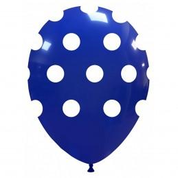 Baloane Albastru Inchis cu buline
