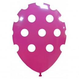 Baloane magenta cu buline