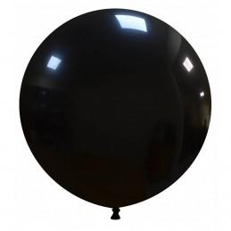 Set 50 Baloane Jumbo Negre 48 cm