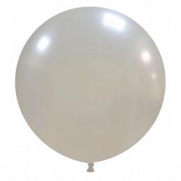Set 50 Baloane Jumbo Argintii 48 cm