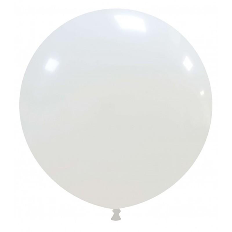 Set 50 Baloane Jumbo Albe 48 cm