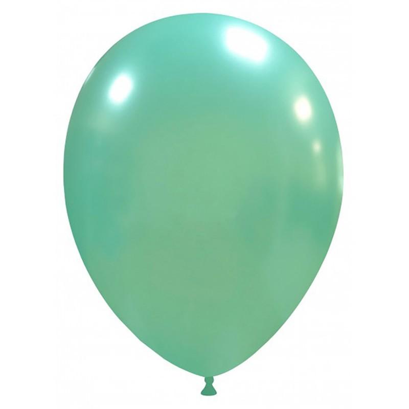 Set 100 Baloane Aqua Metalizate 26 cm