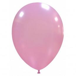 Set 100 Baloane Roz Metalizate 26 cm
