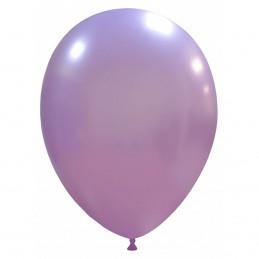 Set 100 Baloane Lavanda Metalizate 26 cm