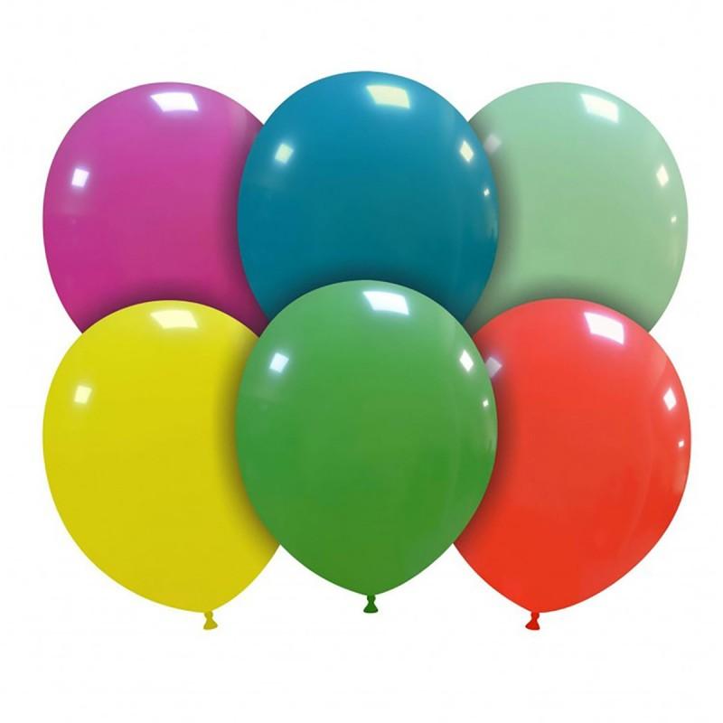 Set 100 Baloane Multicolore Standard 26 cm