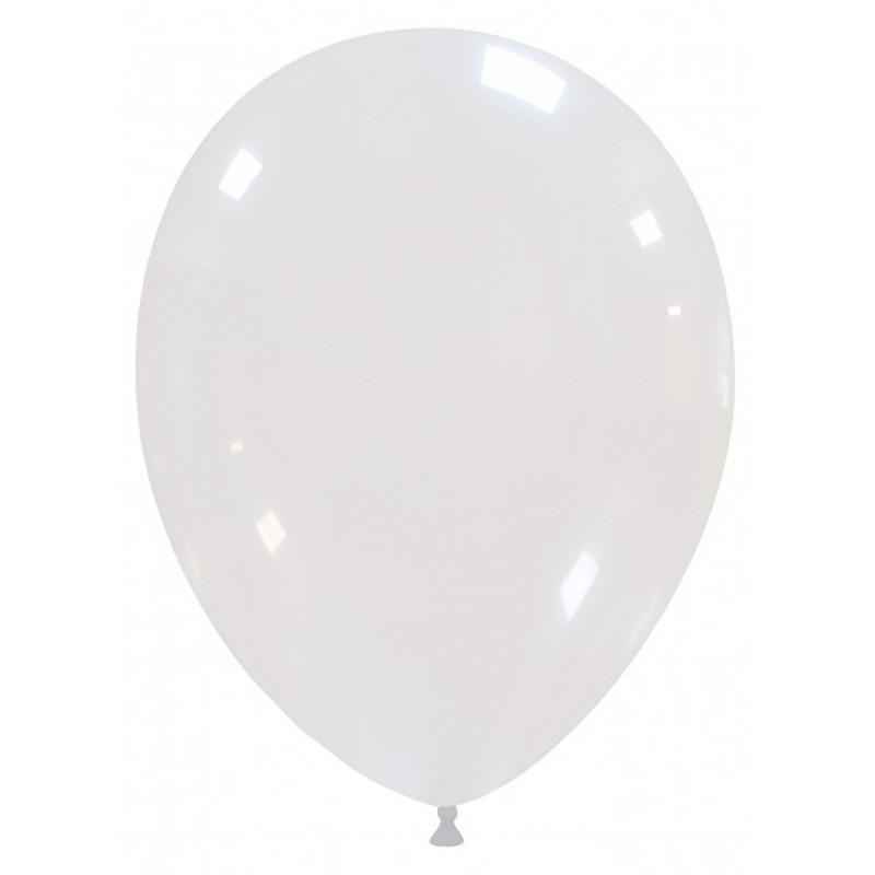 Set 100 Baloane Transparente 26 cm