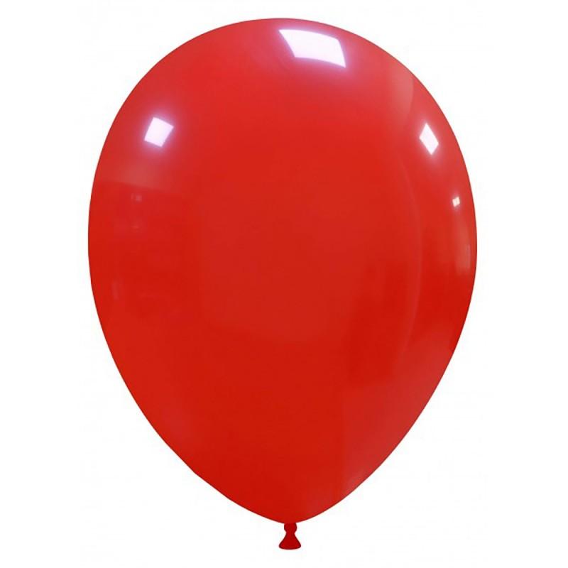 Set 100 Baloane Rosii 26 cm