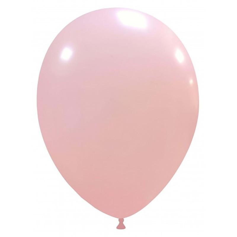 Set 100 Baloane Roz Deschis 26 cm