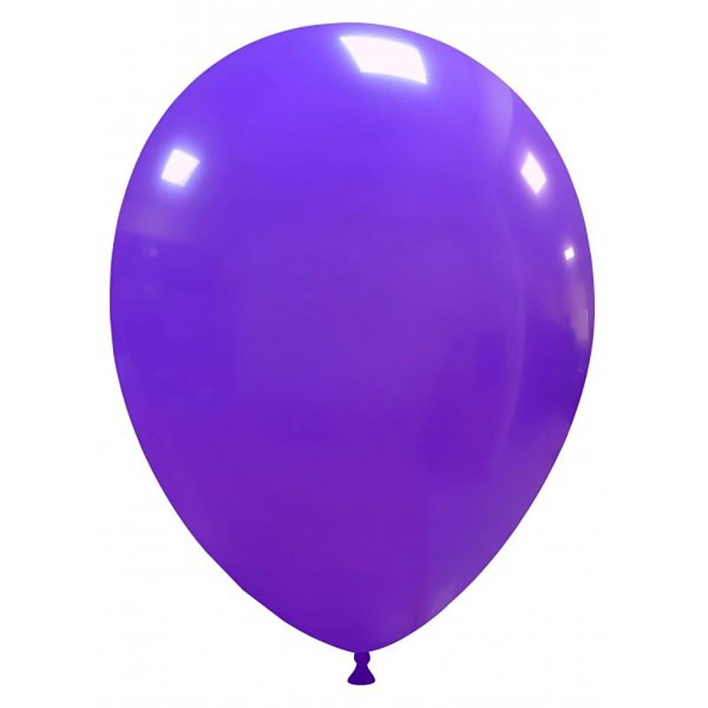 Set 100 Baloane Mov 26 cm
