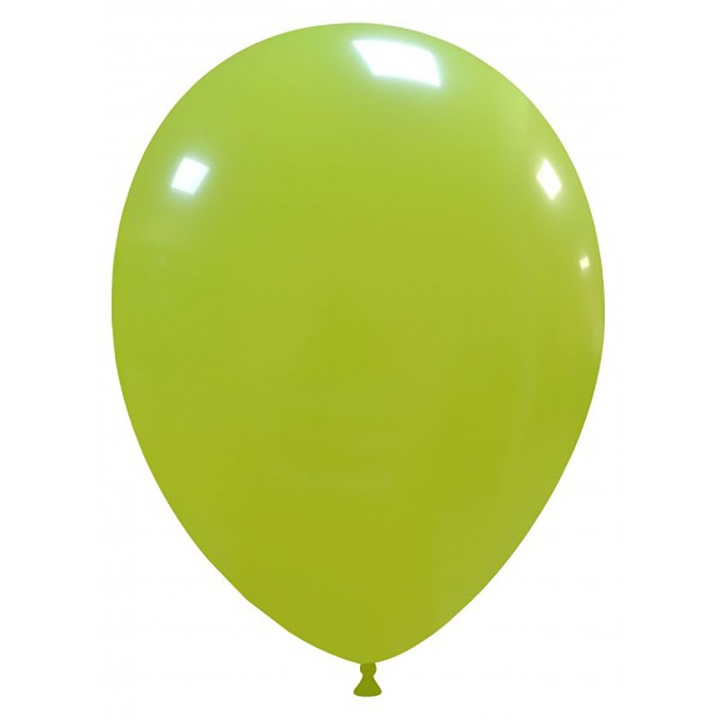 Set 100 Baloane Verde Lime 26 cm