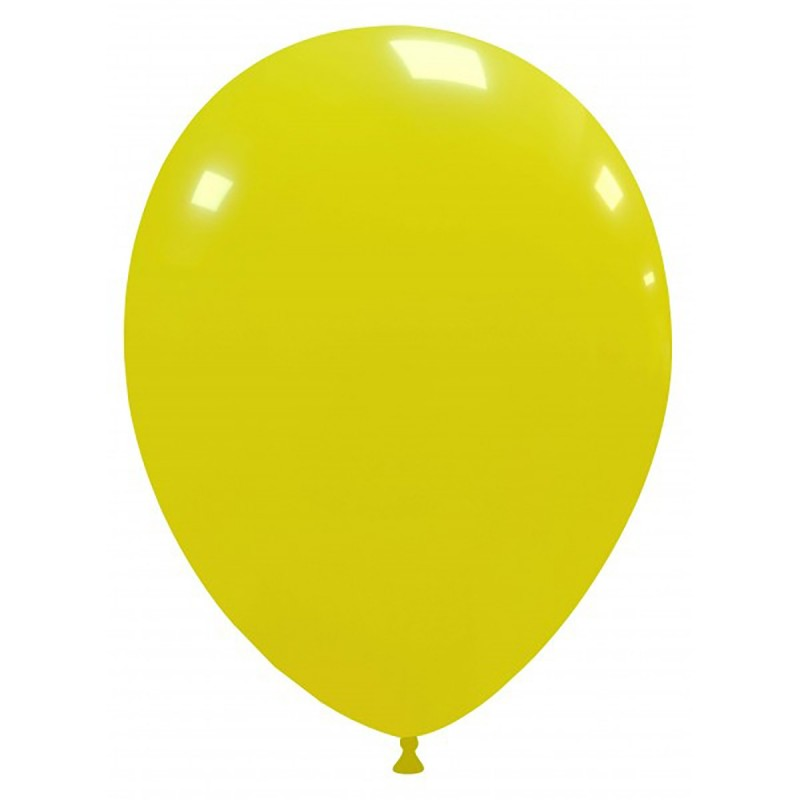 Set 100 Baloane Galbene 26 cm