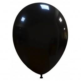 Set 100 Baloane Negre 26 cm