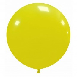 Set 50 Baloane Jumbo Galbene 48 cm