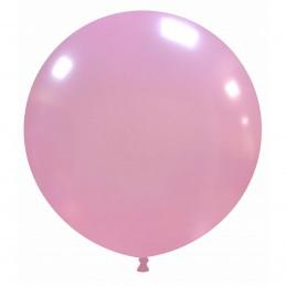 Balon Jumbo Roz Metalizat 80 cm