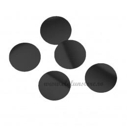Confetti Rotunde Negre 25g