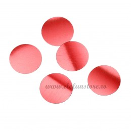 Confetti Rotunde Rosii 25g