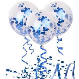 Confetti Rotunde Albastre 25g