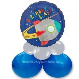 Balon Racheta Birthday Blast Space