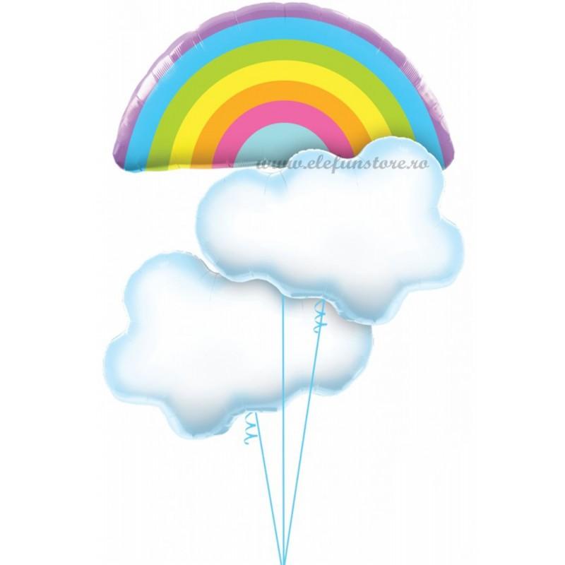Balon Curcubeu 75cm