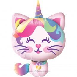 Balon Pisica Unicorn 110cm