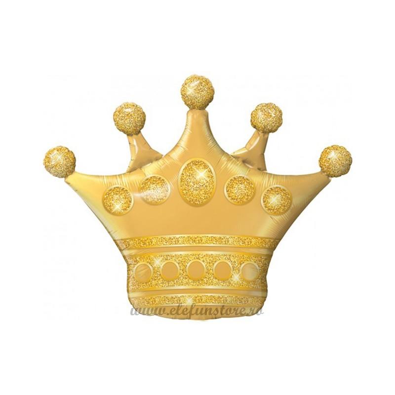 Mini Balon Coroana Aurie