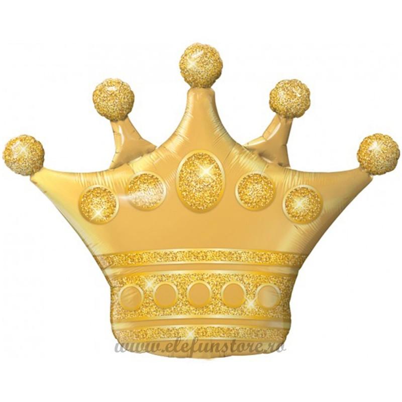 Balon Coroana Aurie 100cm