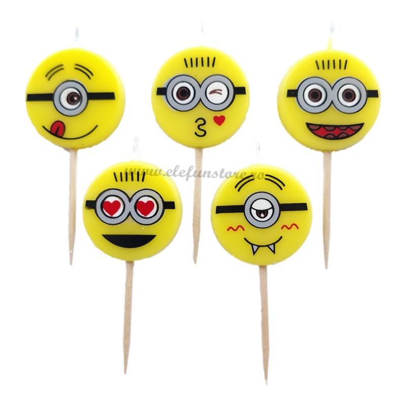 Set 5 lumanari emoji