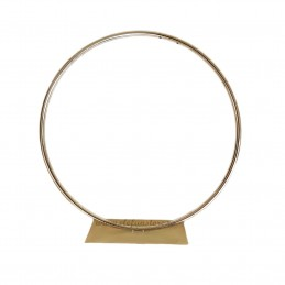Suport cerc auriu din metal 35 cm