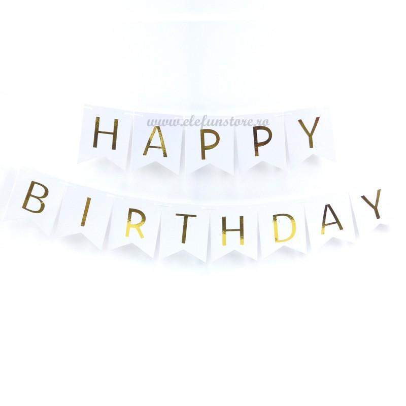 Banner Happy Birthday Alb