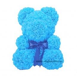 Set 144 trandafiri din spuma bleu 2cm