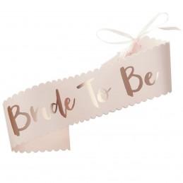 Banderola Bride to Be Rose Gold