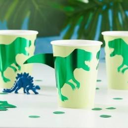 Set 8 pahare Dino Party