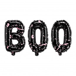 Balon scris BOO Halloween