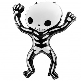 Balon Skeleton Halloween 84cm
