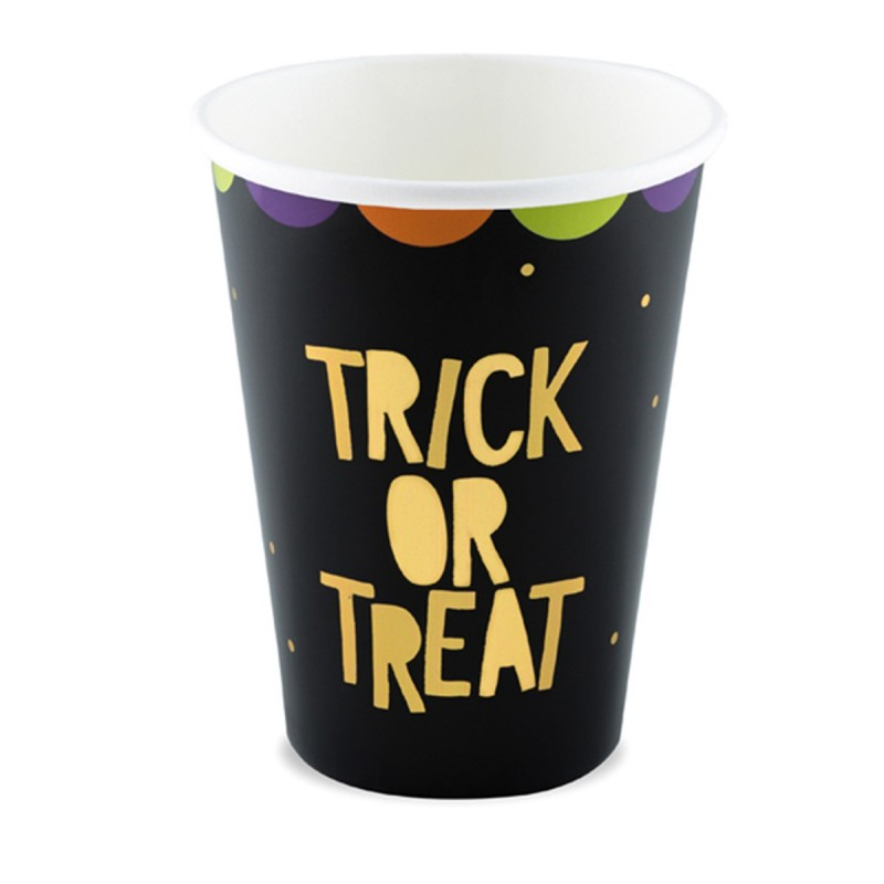 Set 6 pahare Trick Or Treat Halloween 220ml
