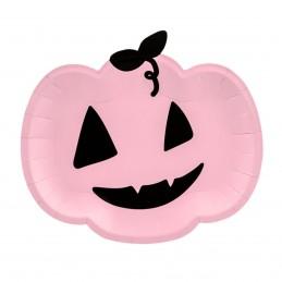 Set 6 farfurii Dovleac Halloween 25cm