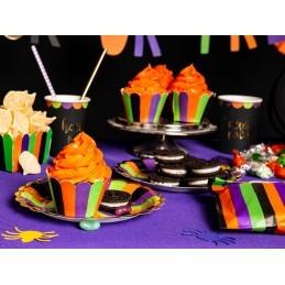 Set 6 farfurii Trick Or Treat Halloween