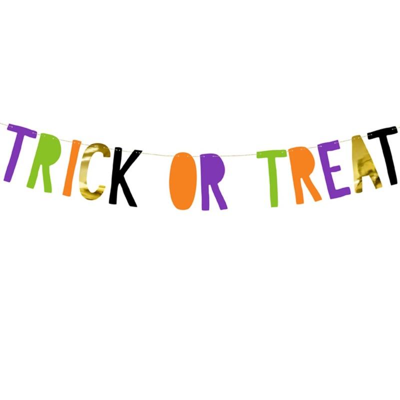 Banner Halloween Trick Or Treat