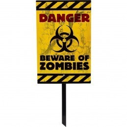 Indicator Halloween Danger! Zombies