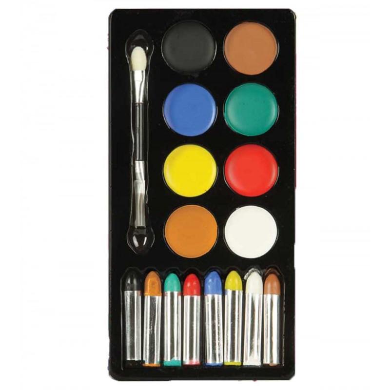 Set pictura pe fata 16 culori