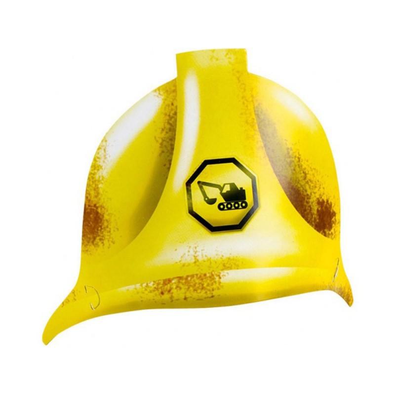 Set 8 coifuri Casca de Constructor