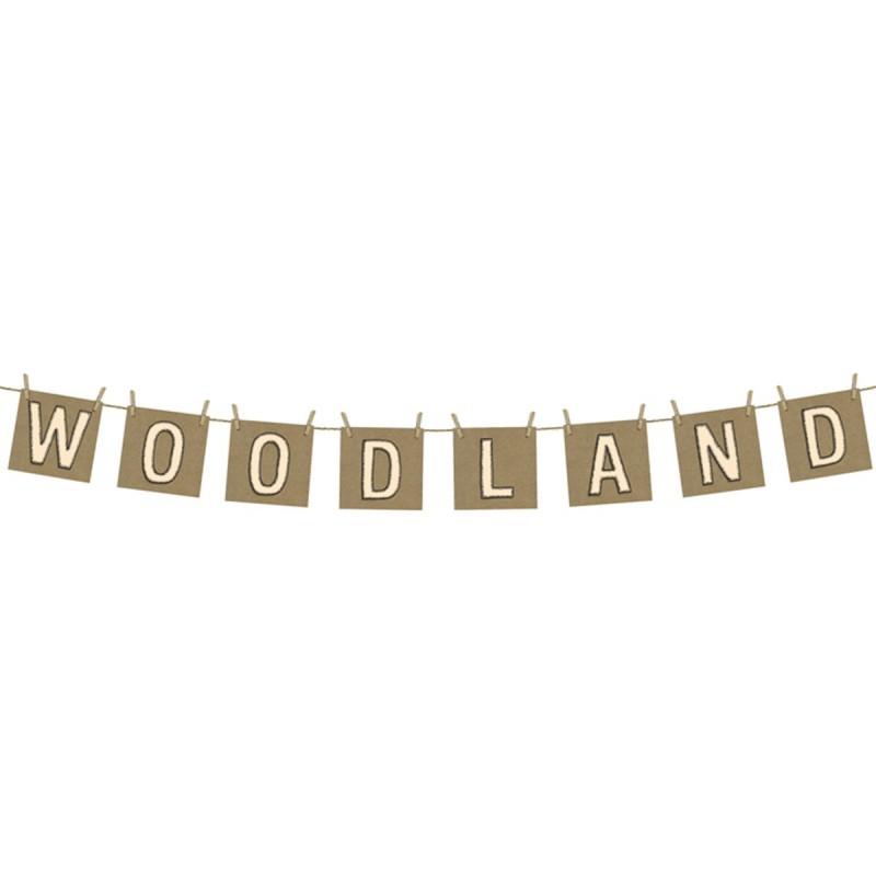 Banner Woodland cu clestisori
